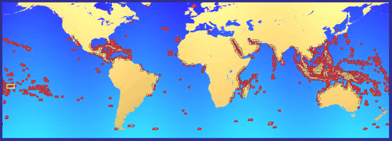 Global Coral Reef Mapping NASA