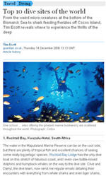 Top 10 Diving Locations in the World