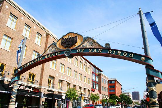 Gaslamp Quarter San Diego