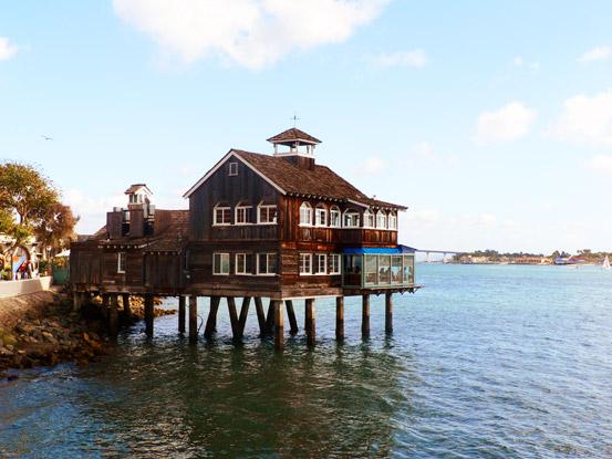 Seaport Village - San Diego Pier Café