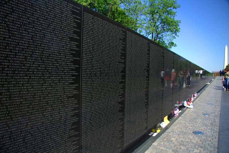 Vietnam Wall : vietnam veterans memorial washington dc jim roth vietnam veterans ...