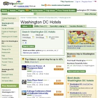 Washington DC Hotels from TripAdvisor