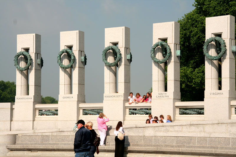 washington dc world war ii memorial