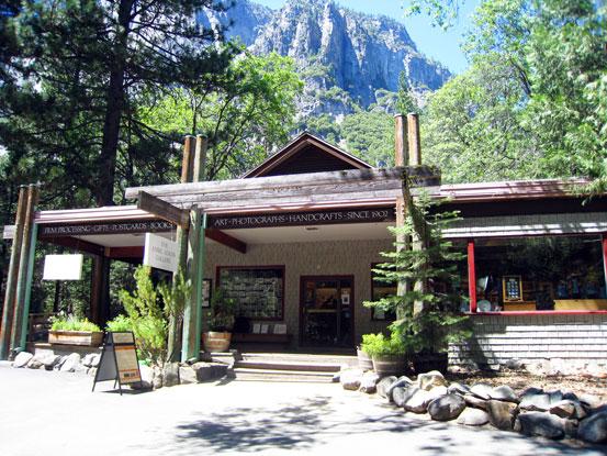 Ansel Adams Gallery Yosemite