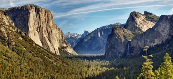 Yosemite Valley View